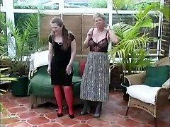 Vintage Village Nymphs Summer Stripping Fun