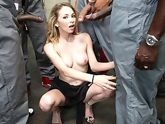 Angel Smalls Is An Interracial Black Cock Slut at Blacks On Blondes!