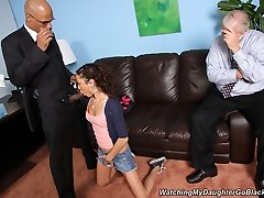 Watching My Daughter Go Ebony