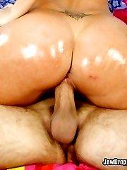 Horny Big Booty Babe Fucks A Big Dick