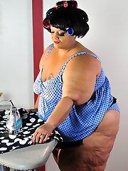 Xxx BBW Milf Farrah Foxx as fat vintage sailor