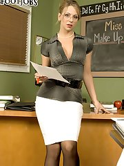 Hosed For Teacher