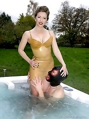 Rubber Tub Tease