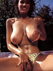 Christy Canyon on The Old School Porn