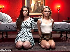 Three beautiful all natural girls get down and dirty in this hot and kinky all anal kink update!