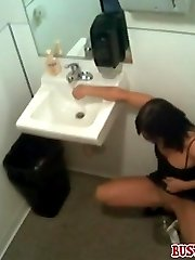 Busted on cam while taking a piss in a pot