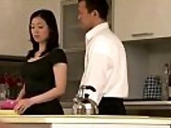 Asian milf housewife getting it on