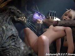 THREE DIMENSIONAL Devil pulverize remix: Cradit Beowolf1117