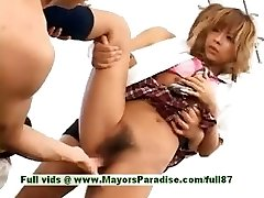 Teenage japanese models have fun with an fuck-fest