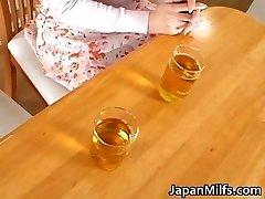 Nasty japanese MUMMIES sucking and fucking