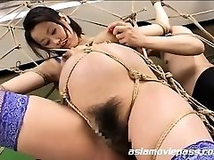 Bizarre Knocked Up Fetish Bondage Pummel AV