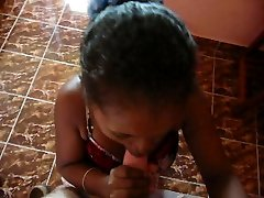 ebony teen maid sucl me in hotel Madagascar 2