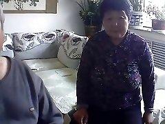 Elderly duo