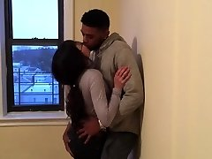 Korean student making out with her very first black guy.