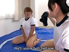 Subtitles Japanese sumo oil grappling game