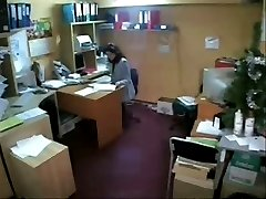 Private office (hidden cam)