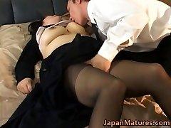 Japanese mature chick has super-fucking-hot sex