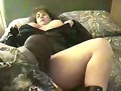 BBW Princess is in a black cock gangbang and gets drilled