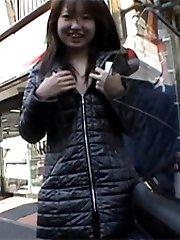 Exposing herself in public
