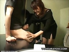 Cabaret Club Restroom Oral Stimulation Sex