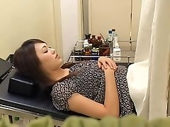 Ravishing hairy Japanese broad receives fucked by her gynecologist
