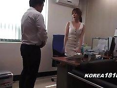 Korean porn HAWT Korean Boss Lady