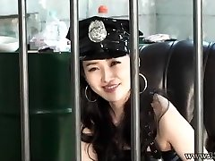Japanese Femdom Prison Guard Dong