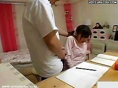 Secret Video Girl's Student Sucking Jock
