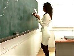 fantastic japanese teacher fucking college girl