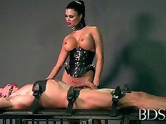Raguotas pornstar, Šilčiausias BDSM, Handjobs xxx scena