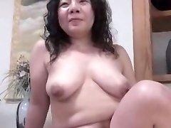 日本の醜いBBW成熟Creampie順子ヒューズ46years