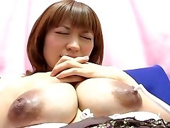 Yui Aihara - Toothbrush Nipple Play Cute Chinese Prego