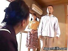 Horny japanese MILFS fellating and fuckin' part4