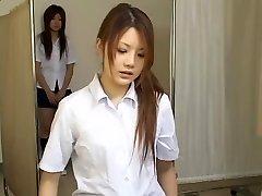 Japanese teen sluts in hot hidden camera medical vid
