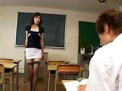 excitat profesor japonez - necenzurat