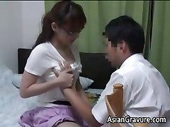 Sexy chinese with big hooters home teacher part1