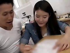 Hot Korean Lehrer Mit Ihren Schülern