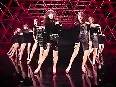 hot Korean damsels dance glamour