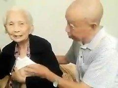 Asian Elderly Duo