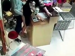 Japanese fuking in supermarket