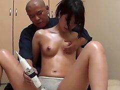 Japanese rubdown fuck