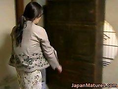 Japanese MILF has crazy lovemaking free-for-all jav