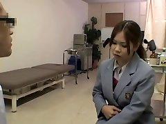 Nasty hot medical exam for a smoking hot Asian gal