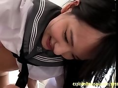 Abe Mikako Porks And Kisses In Her School Shirt