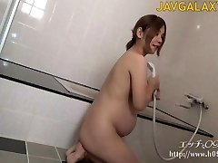 Sexy Prego Japanese MILF - Part 1
