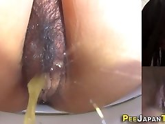 asian girls pussy pissing