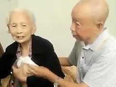 Asian Aged Couple