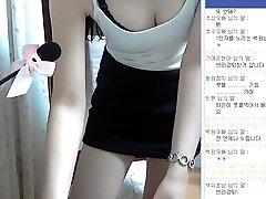 Korean girl super cute and perfect body showcase Webcam Vol.01
