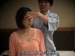 Subtitled Asian motel massage oral sex nanpa in HD