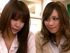 Horny Asian girl Entices Teacher Lesbian